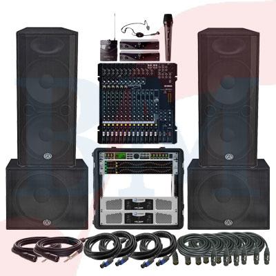 Paket Semi Outdoor Professional Paket Sound System