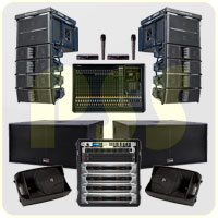 Paket Sound System Line Array Biema