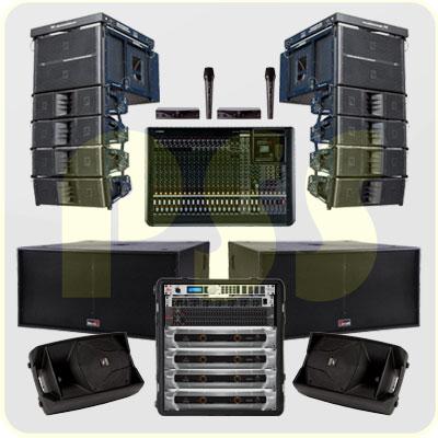 Paket Sound System Line Array Biema Paket Sound System