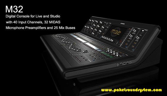 Harga Audio Mixer Mixer Audio Digital Midas M32