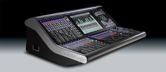Mixer-Audio-SSL-Live-sampin