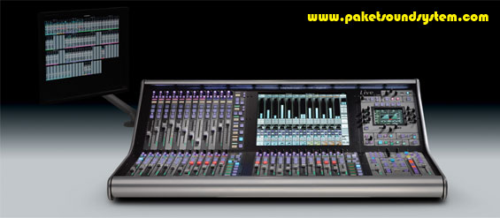 Mixer-Audio-SSL-Live