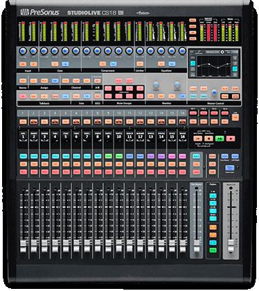 Kontroler-Mixer-PreSonus-CS