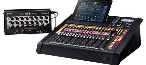 Mixer Audio Digital Roland M200i