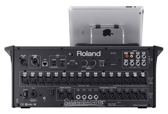 Mixer-iPad-ROland-M200i-rea