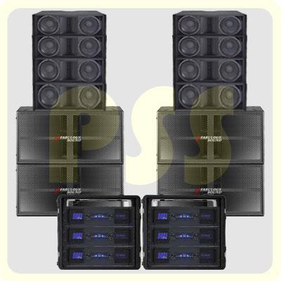 Paket Line Array Fabulous Sound | Paket Sound System