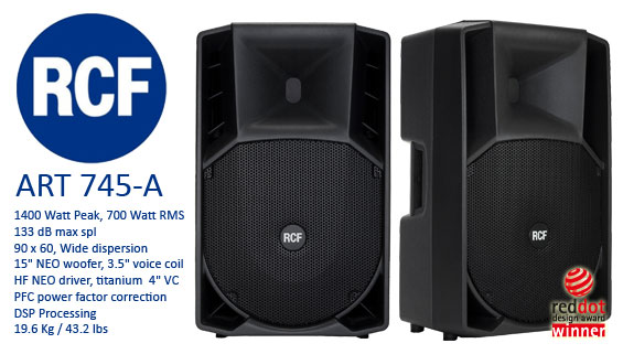Speaker-Aktif-RCF-ART745A